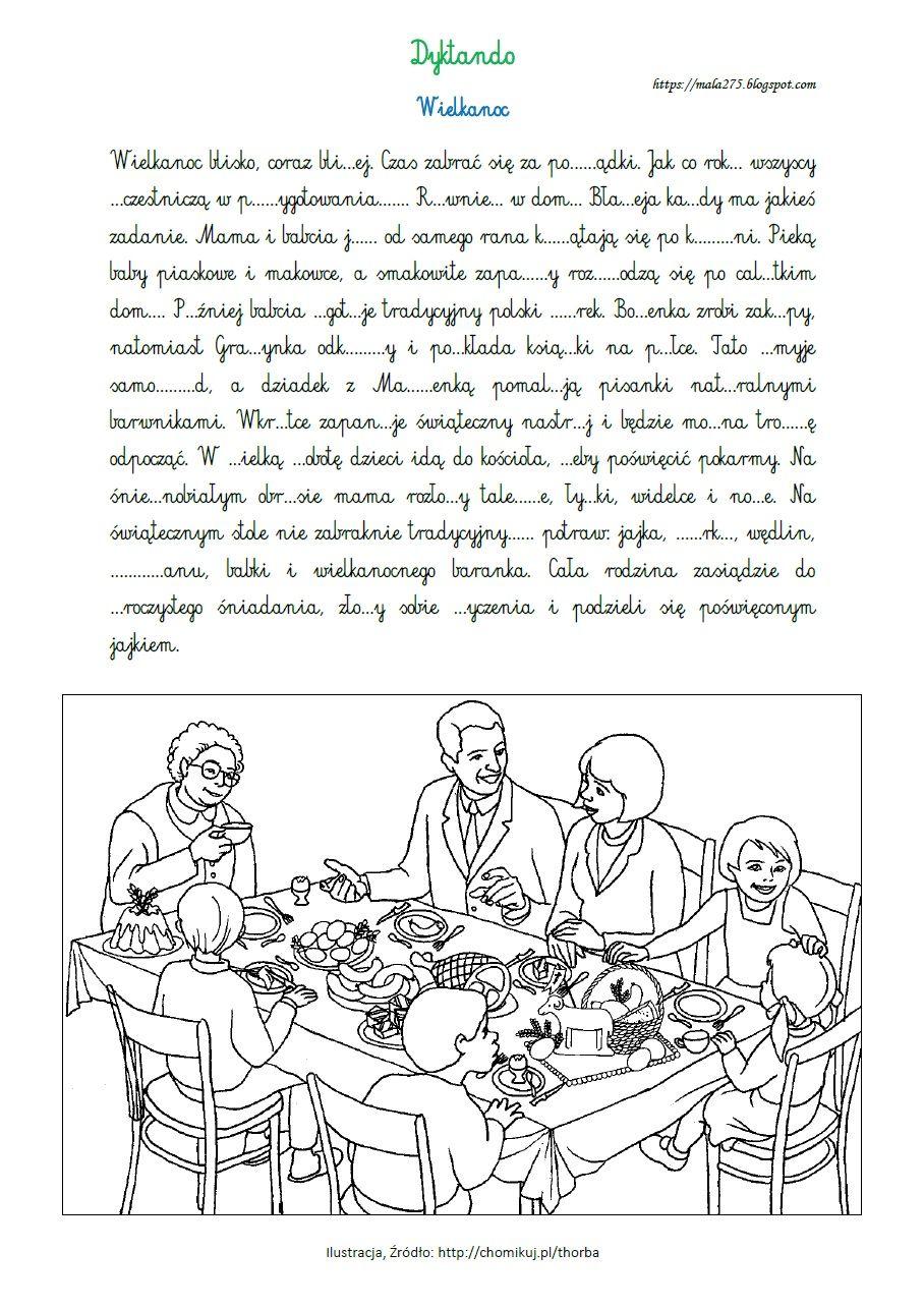 Blog Edukacyjny Dla Dzieci Dyktanda Education Blog Polish Language Education