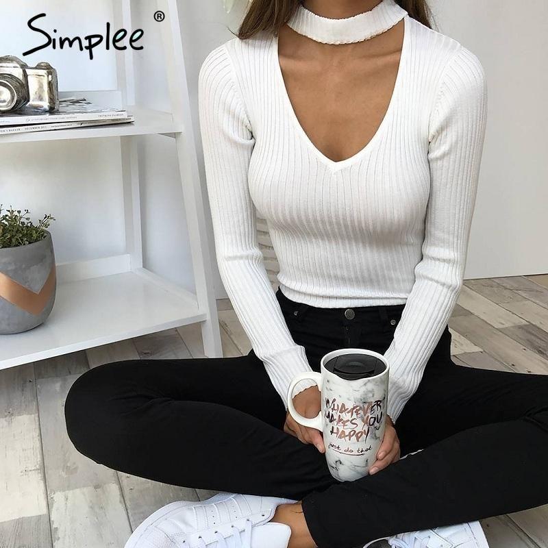 ru.aliexpress.com store product Simplee-Elegant-halter-knitted ...