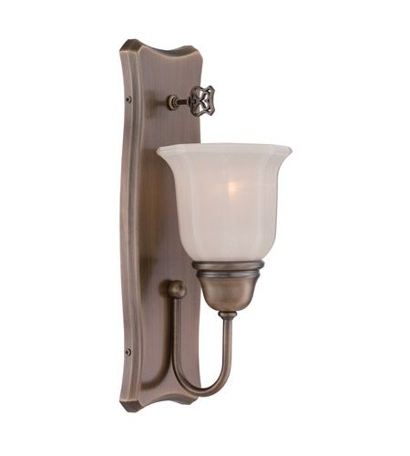 Photo of Designers Fountain 68001-OSB Astor 1 Light 5 inch Old Satin Brass Wall Sconce Wall Light