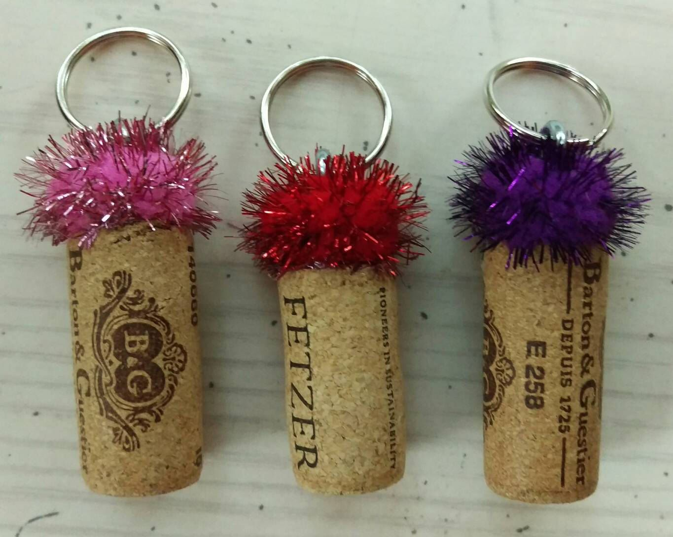 This Item Is Unavailable Recycled Wine Corks Keychain Wine Cork