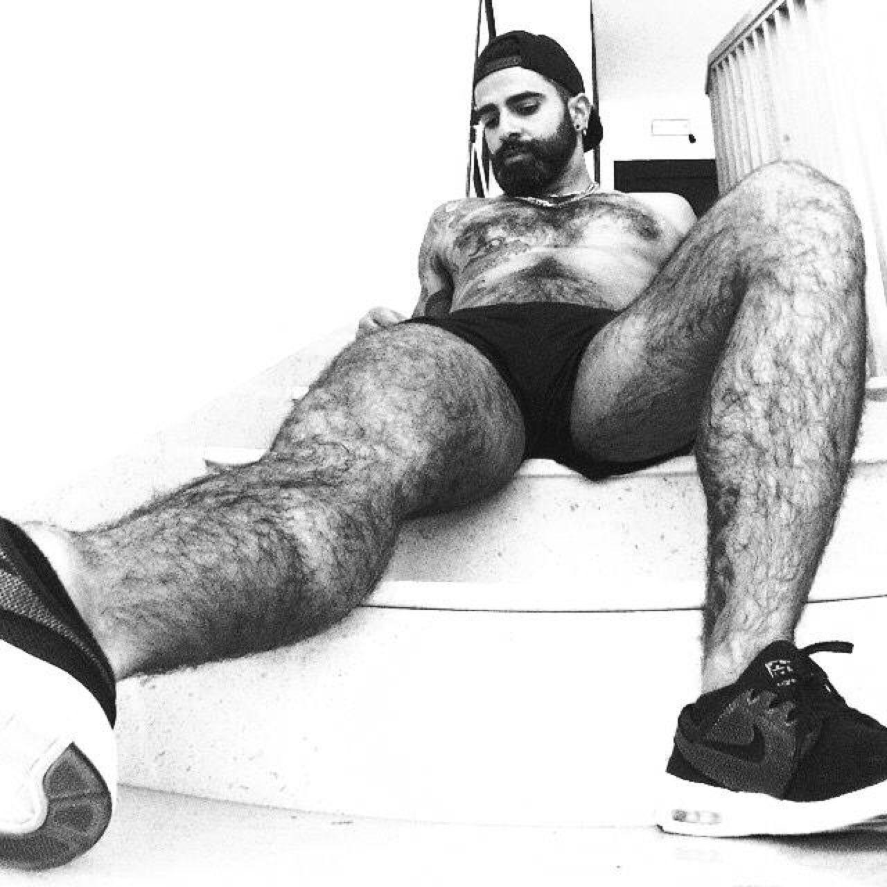 Hairy boys legs love