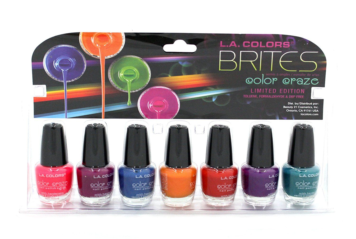 La Colors Limited Edition Brites Color Crazy 7pcs Set *** See this great product.