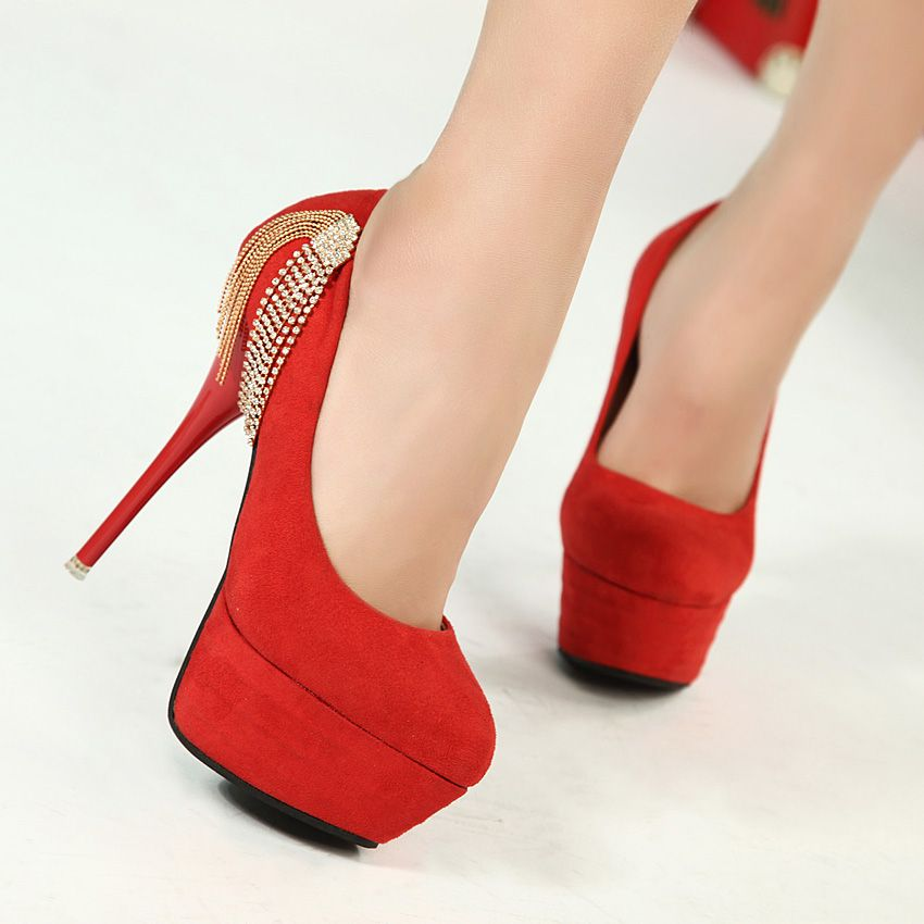 Red Heel Shoes For Women | Tsaa Heel