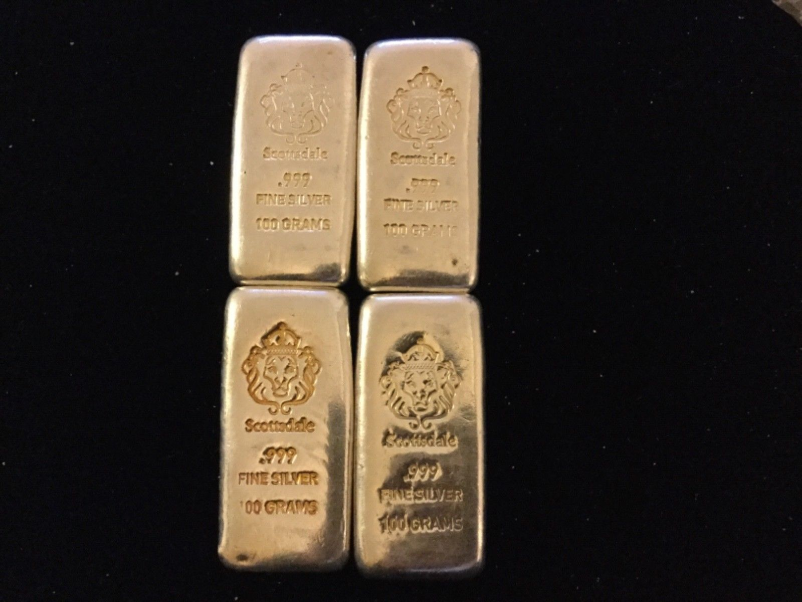 Scottsdale Mint 100 Grams .999 Silver