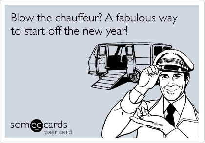 Blow the chauffeur? A fabulous way to start off the new year! | Rosh Hashanah #shanatovacards Blow the chauffeur? A fabulous way to start off the new year! | Rosh Hashanah #roshhashanah