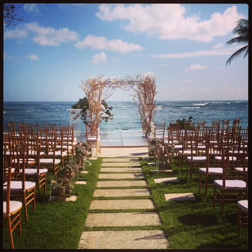 Chuppah Wedding At Ritz Carlton Reserve In Dorado Beach