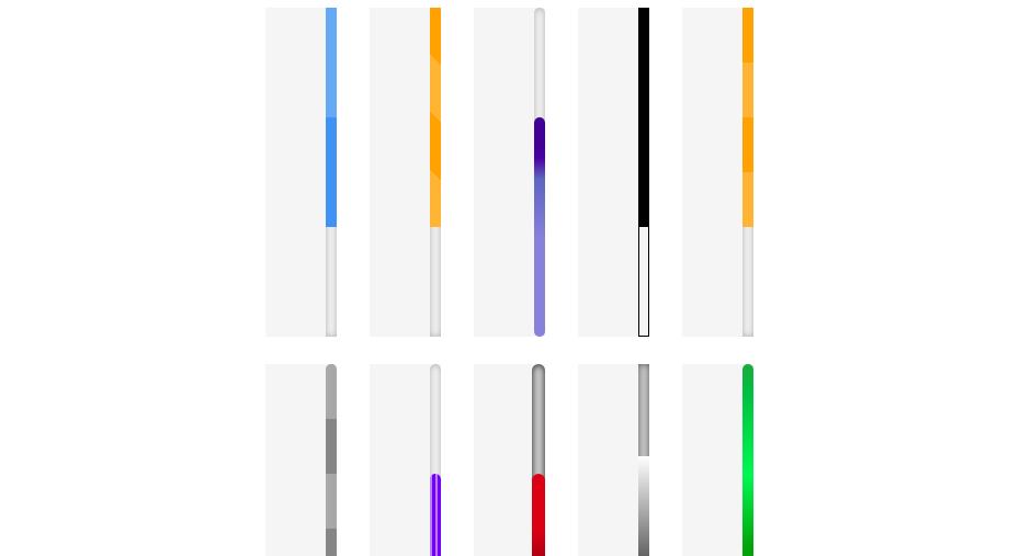 React Custom Scrollbar Components Onaircode Scroll Bar Css Scrollbar Browser Support