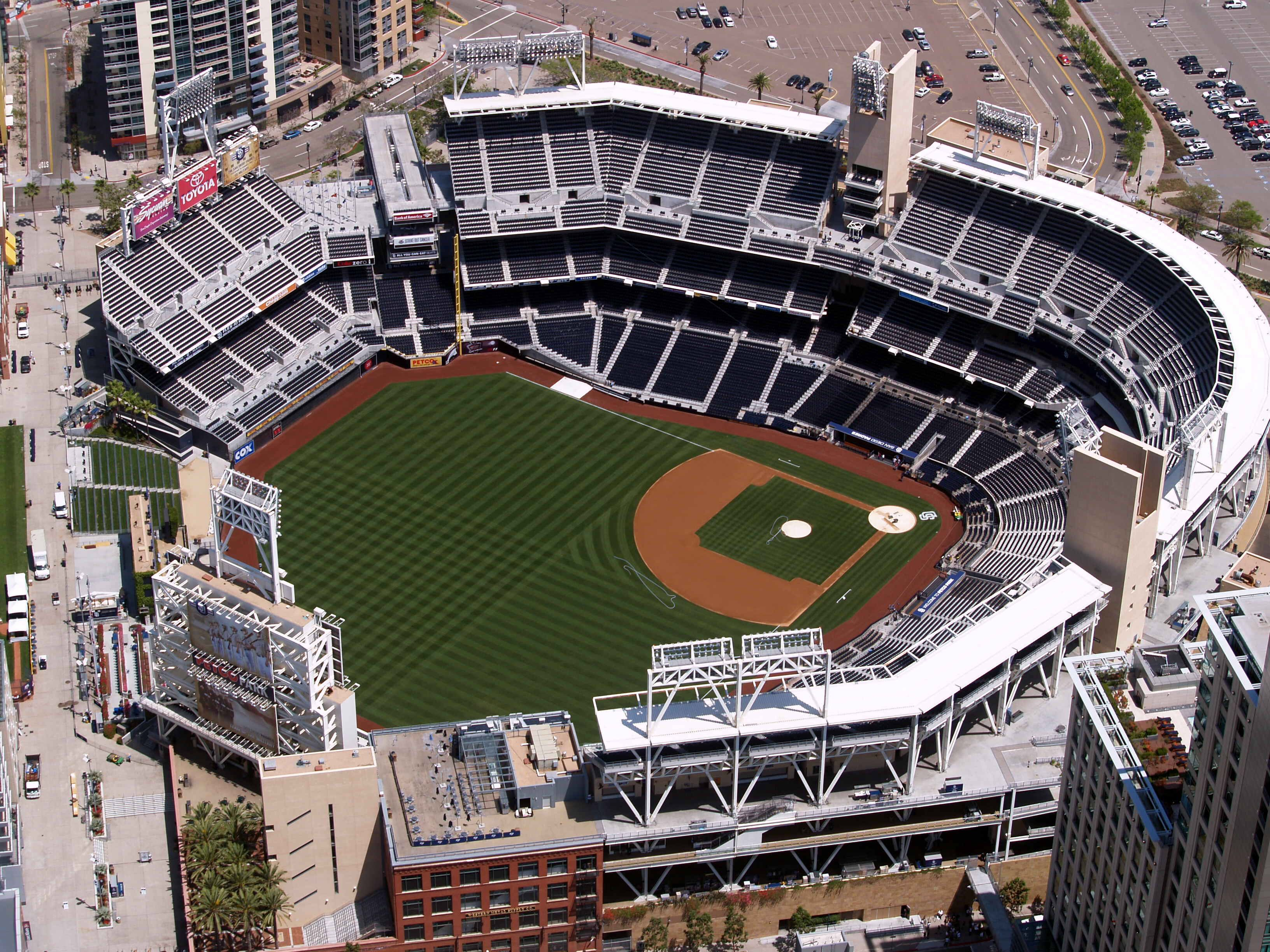 San Diego Padres Petco Park With Images Petco Park San Diego Padres Baseball Park