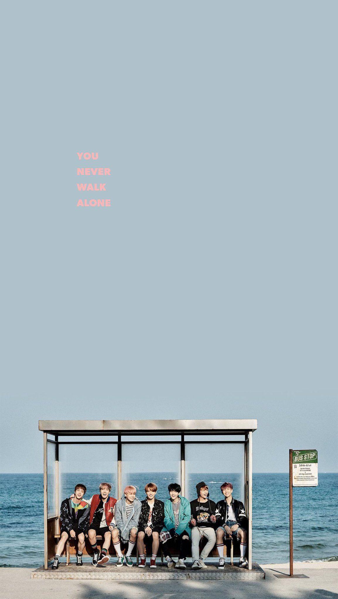 Bts You Never Walk Alone By Tsukinofleur Bts You Never Walk Alone Walking Alone Album Covers