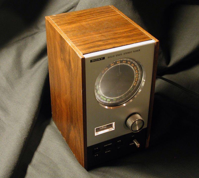 Vintage Tuner Sony ST 80 Solid State Bookshelf Stereo Methuselahpalooza