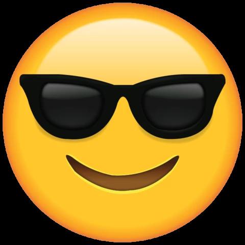 Sunglasses Emoji Em 2020 Emoji Emoji De Oculos Fotos De Emojis