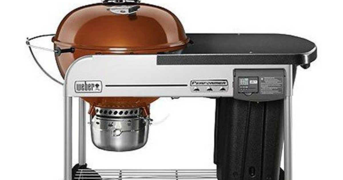 Weber 15502001 Performer Deluxe Charcoal Grill 22 Inch Copper Grilldemon Best Charcoal Grill Charcoal Grill Best Charcoal