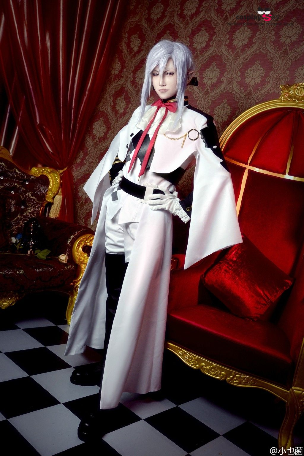 Anime Seraph of the End//Owari no Seraph Cosplay Ferid Bathory Wig Hair