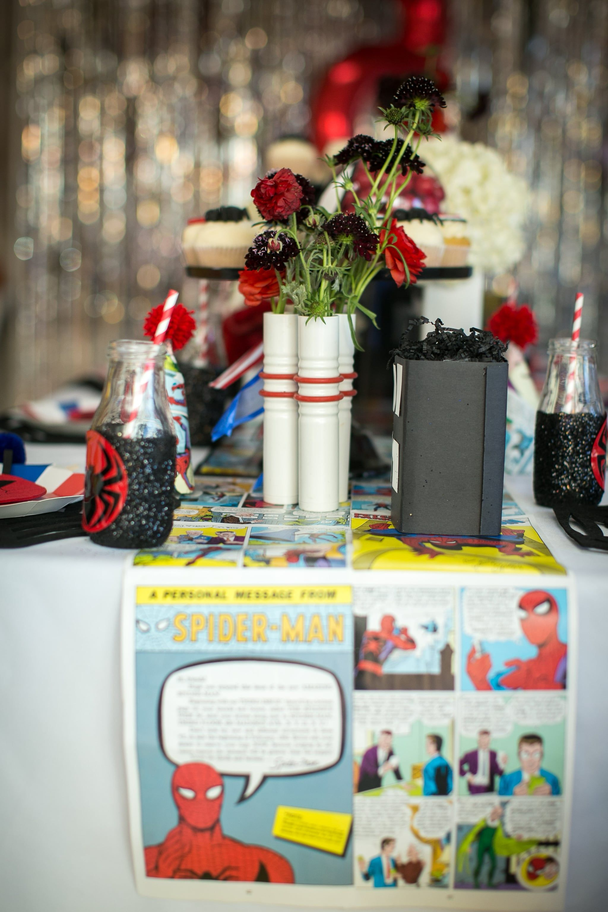any parent who plans this spider man birthday party is an automatic rh pinterest com