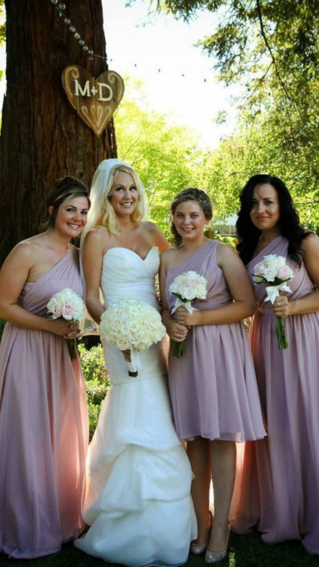 15811173afa79 Loves First Blush color bridesmaid dresses - Alfred Angelo Jenny Lee 1216  Wedding Dress Penny Sylvia Photography