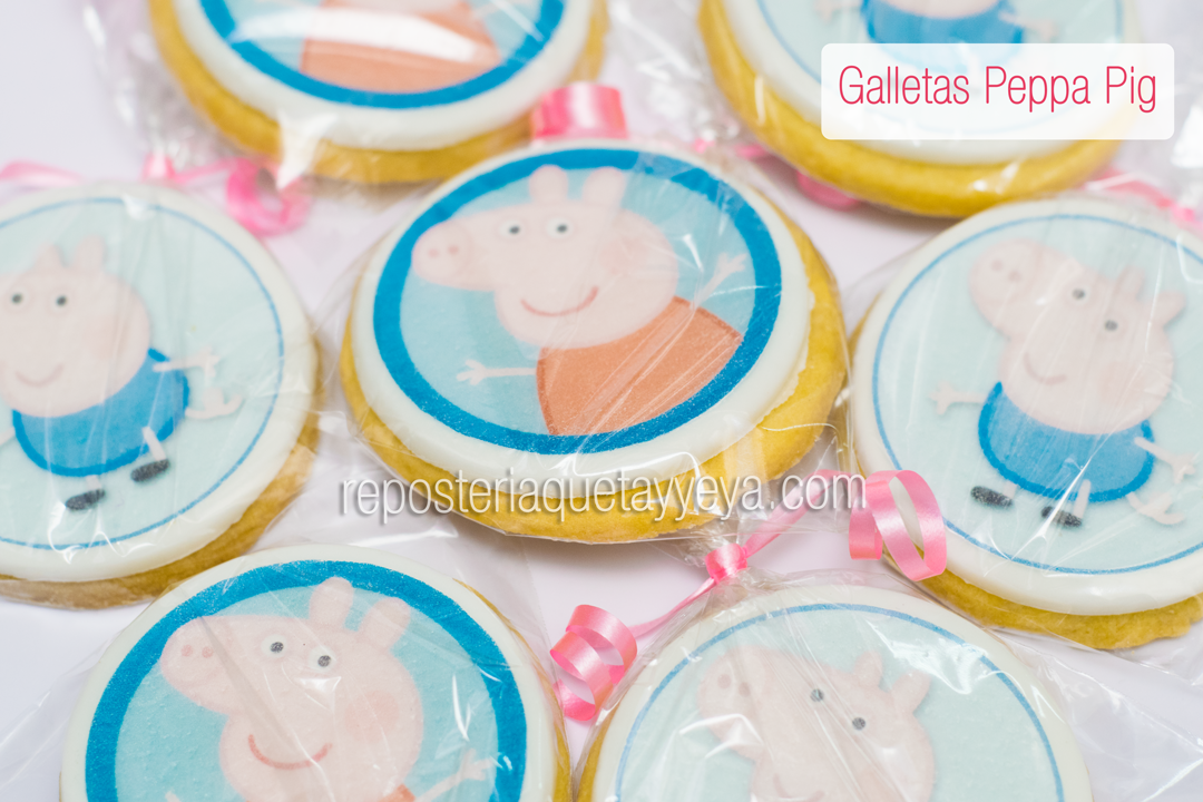 Galletas Peppa - Peppa Cookies