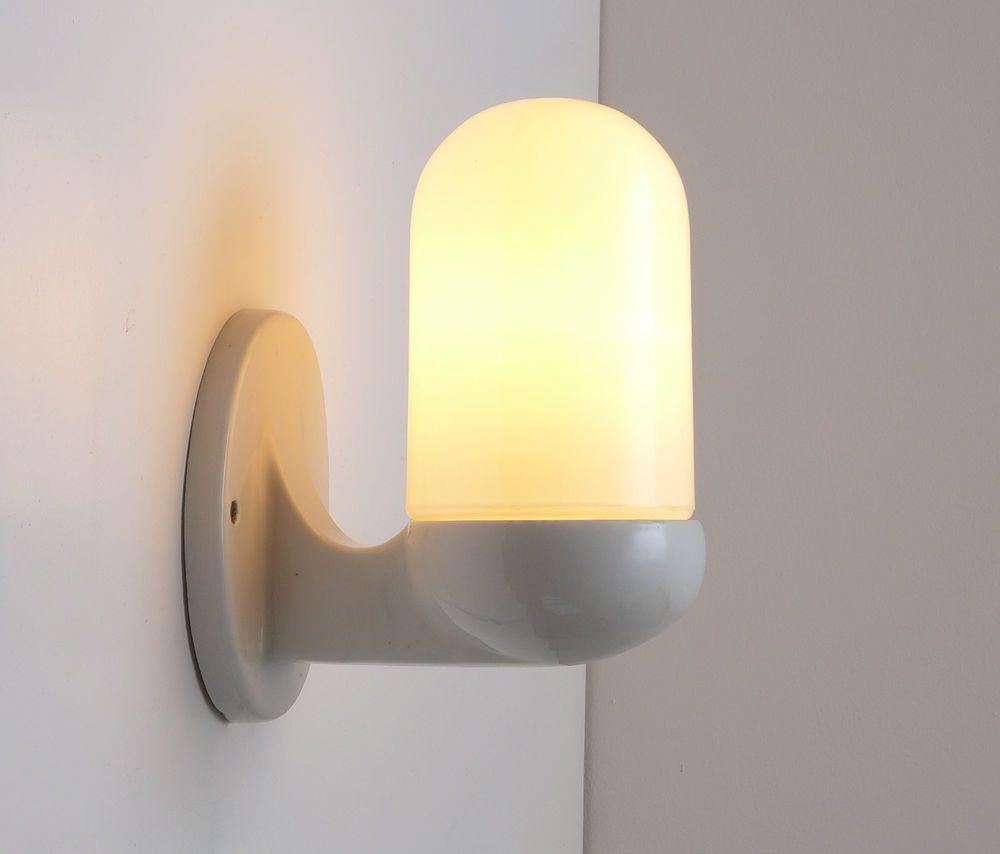 Art Deco Siemens porcelain wall lamp design by Peter Behrens Art ...