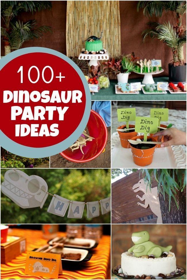 Creative Dinosaur Birthday Party Ideas Birthday Party Ideas