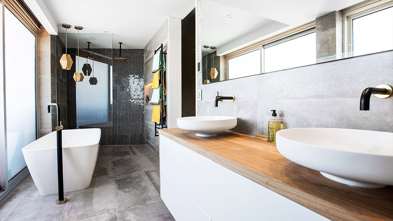 Bathroom Design Tips block winners dean and shay share top bathroom design tips