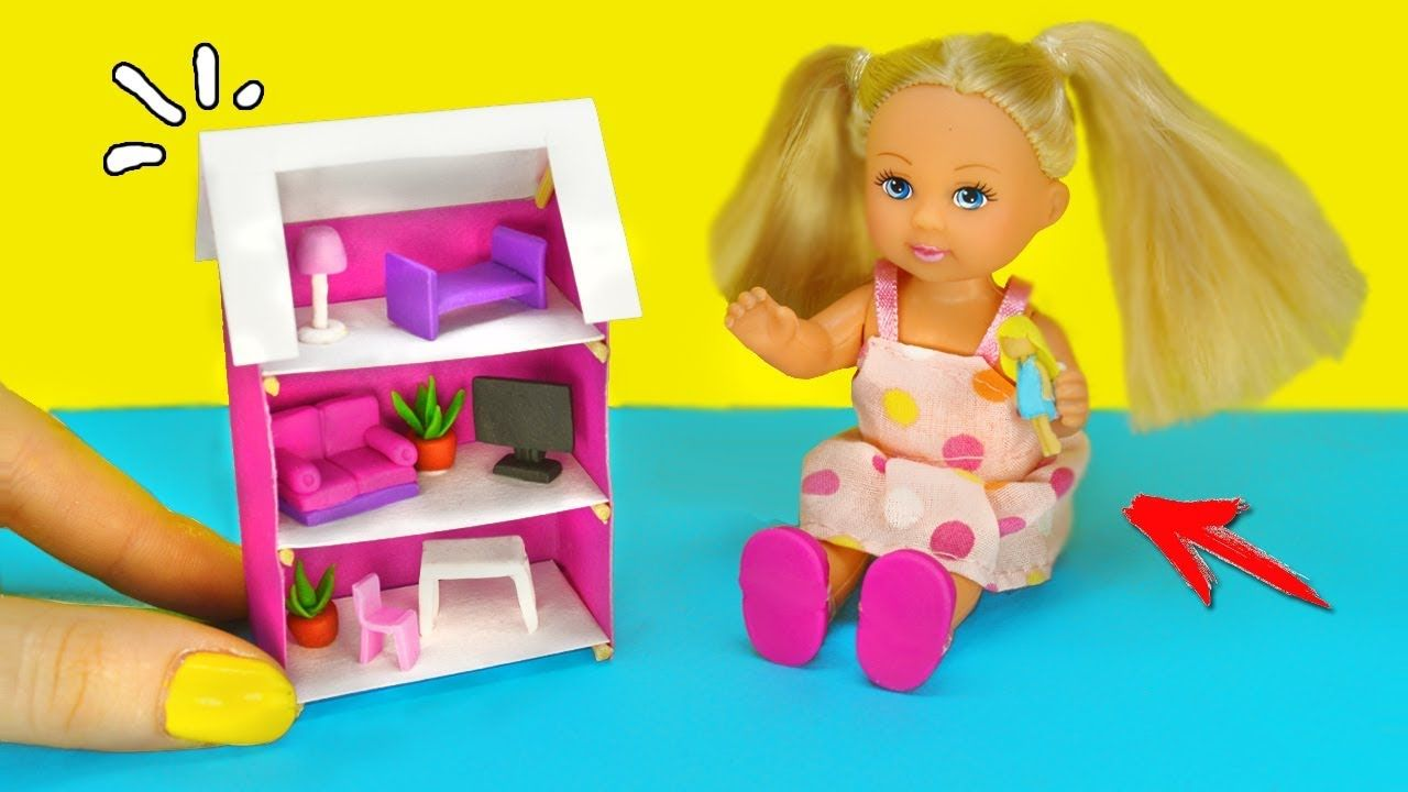 КУКОЛЬНЫЙ ДОМИК для КУКОЛ 🌟 Игрушки для Кукол! ДОМ МЕЧТЫ ...