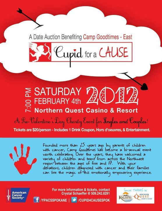 Flyer for cupid for a cause charity auction sponsored american flyer for cupid for a cause charity auction sponsored american cancer society toneelgroepblik Images
