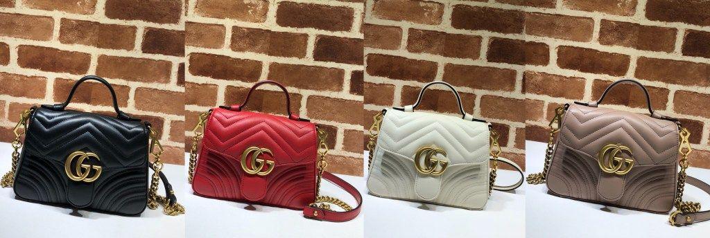 3dd8470142d396 Gucci GG Marmont mini top handle bag 547260 | Luxury Handbags ...