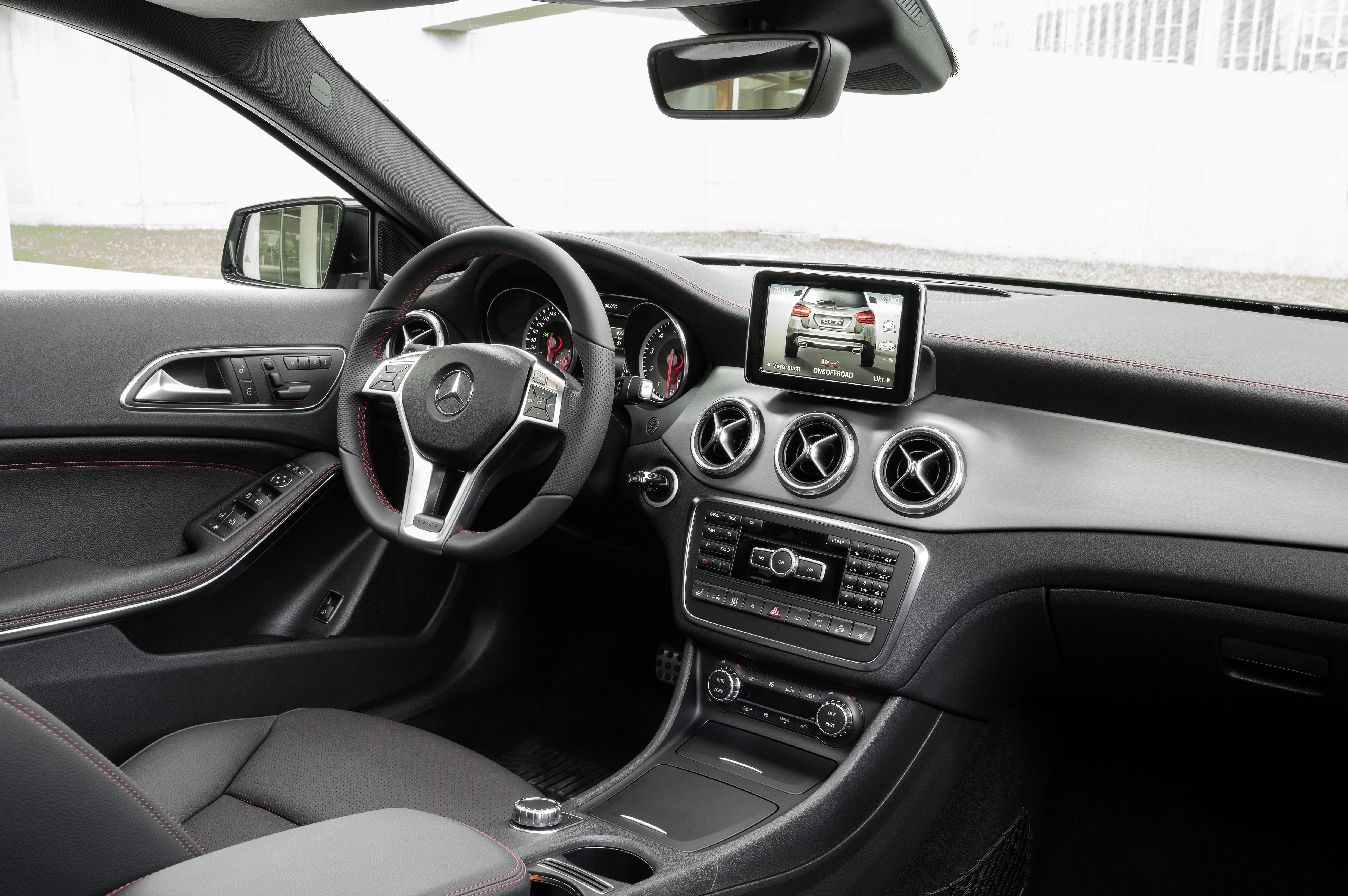 The 2015 mercedes benz gla includes bluetooth connectivity ipod mp3 media interface