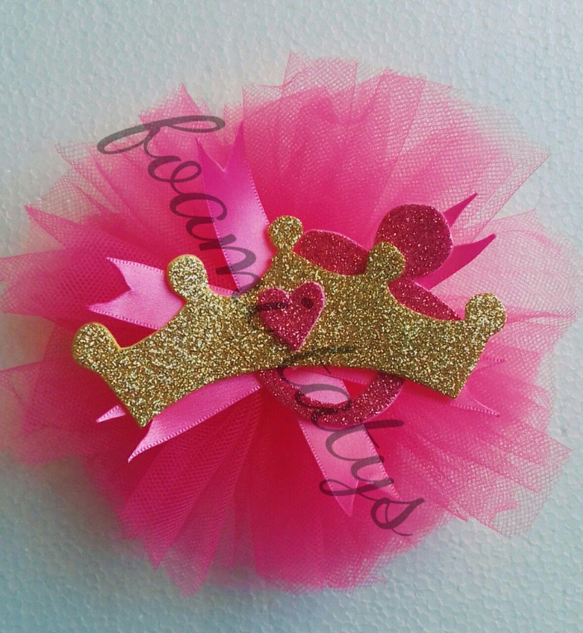 Corsage Invitadas Baby Shower Nina Princesa Distintivos Baby