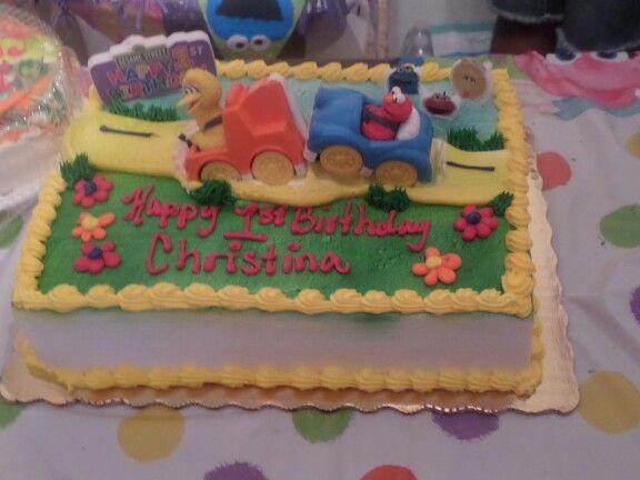 Sesame Street Cake From Publix Sesame Street Cake Cake Sesame Street