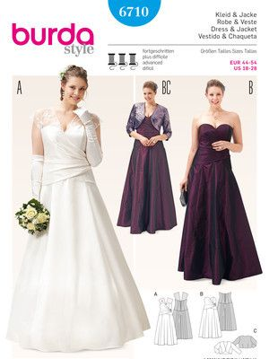 Simplicity Schnittmuster Abendkleid Kleid 2442 | Schnittmuster ...
