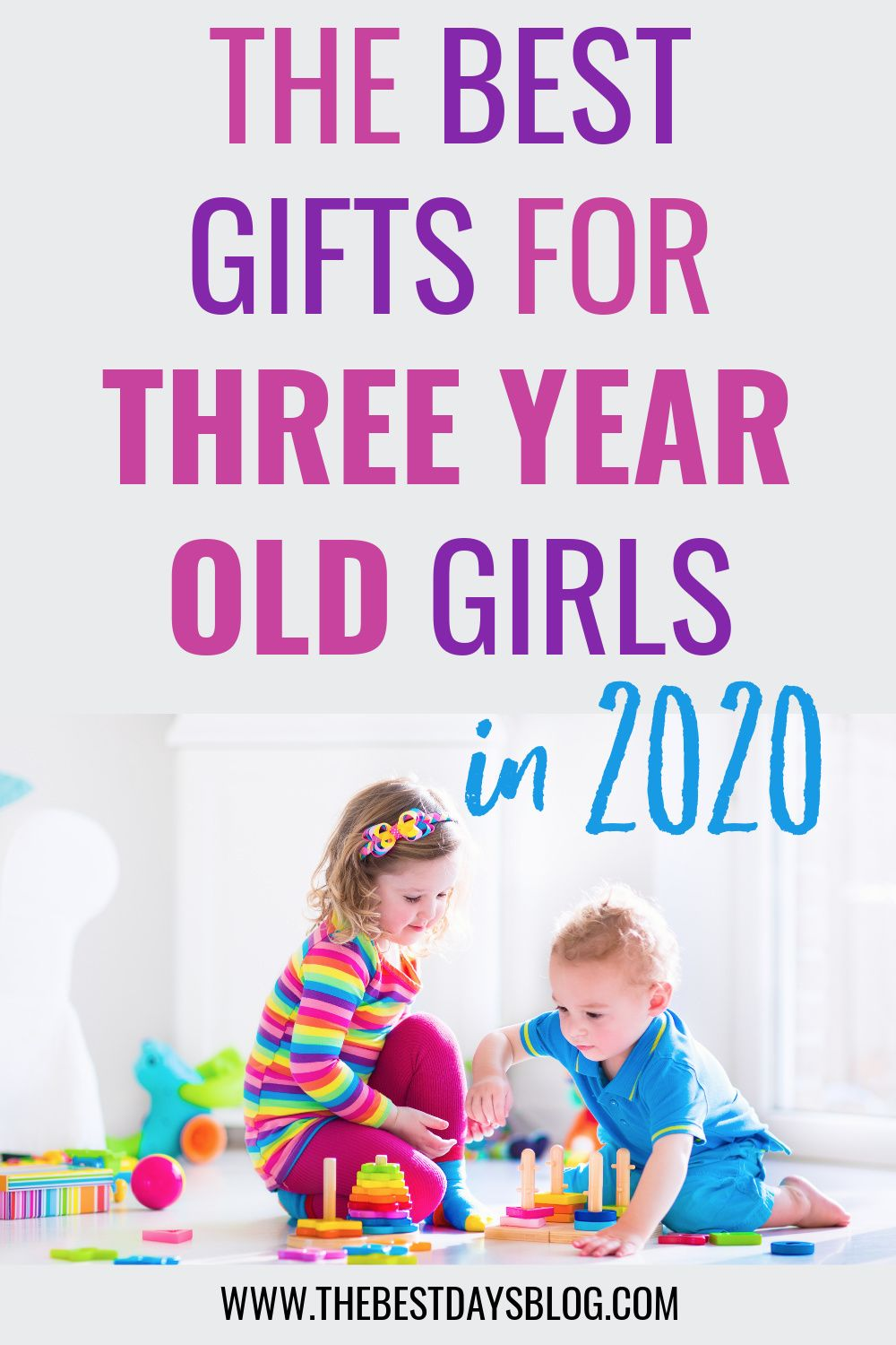 Toy & Gift Ideas for Three Year Olds in 2020 | Old girl ...
