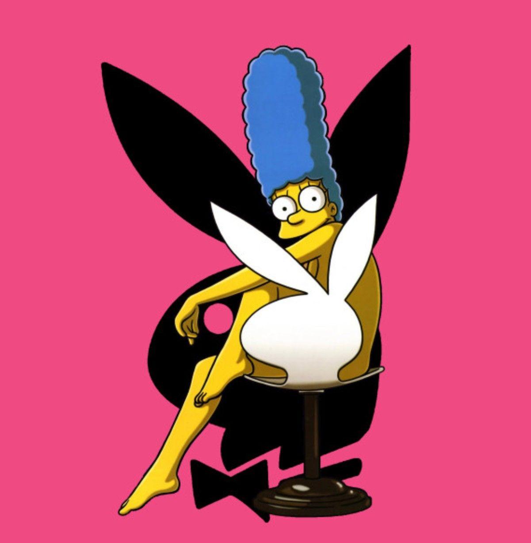 Marge simpson nackt playboy