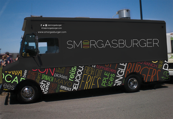 Smorgasburger Food Truck By Karli Tomaselli Via Behance