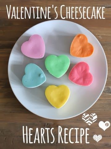 Be Mine: Valentine's Day Cheesecake Hearts -- LOVE THESE and would be great for a birthday too!!!