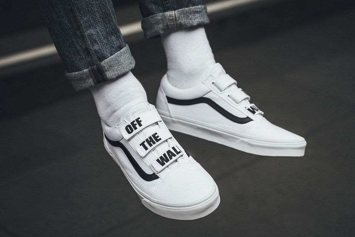 vans off the wall grijs