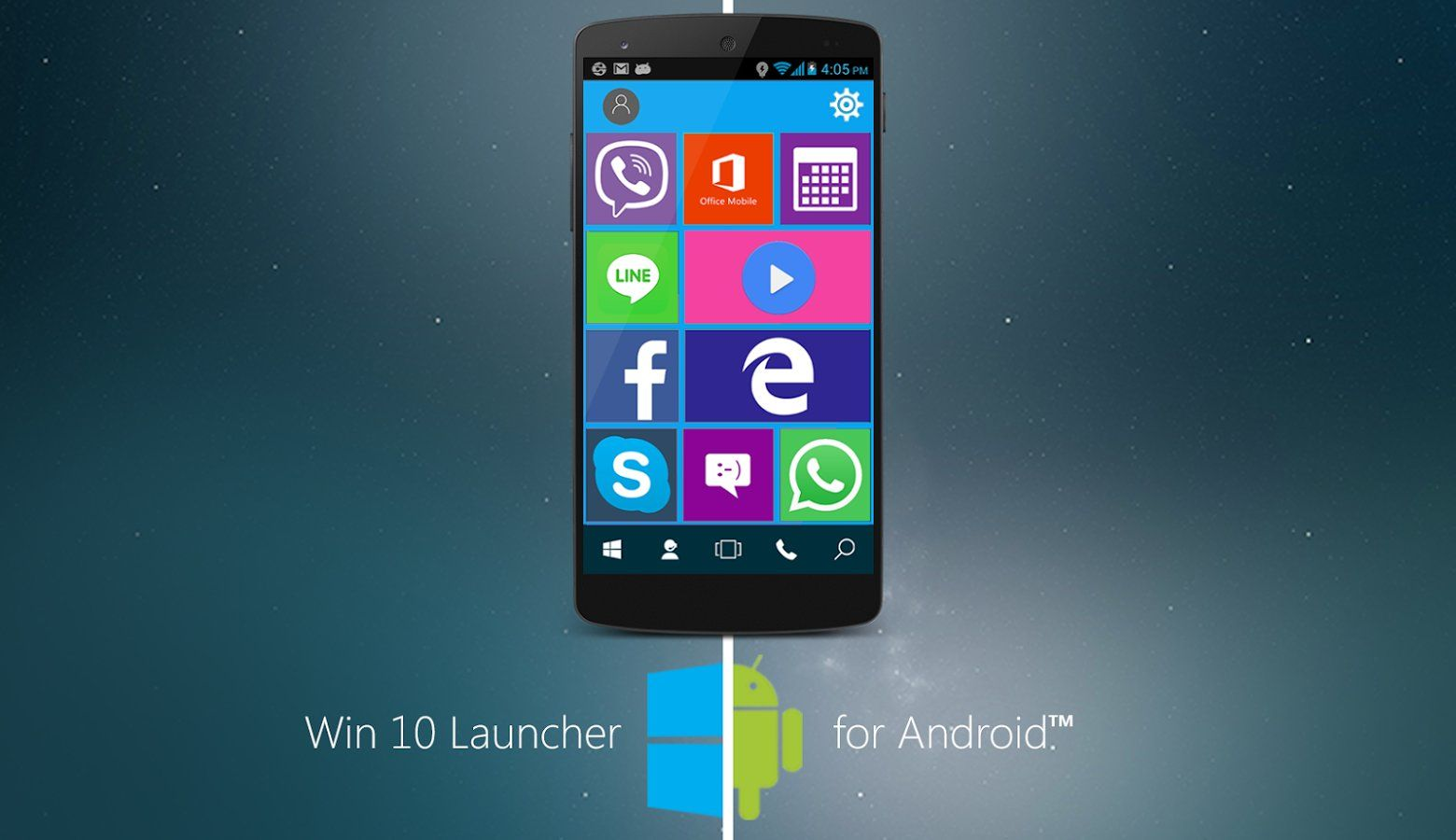 Download The Windows 10 Launcher APK For Android