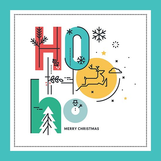 behance set of christmas and new years greeting cards explore new year greeting cards and more m4hsunfo