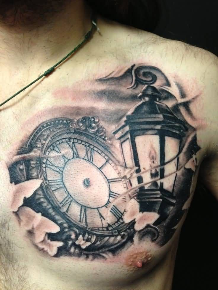 Left Shoulder Blade Life Is Full Of Little Pleasures In French Watch Tattoos Lantern Tattoo Tattoos