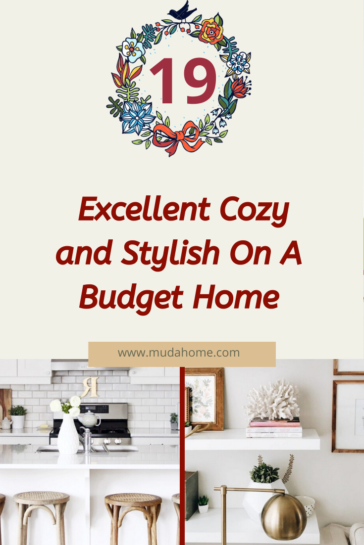 17 Marvelous Cozy and Stylish On A Budget Home #home #homedesign #homedesignideas