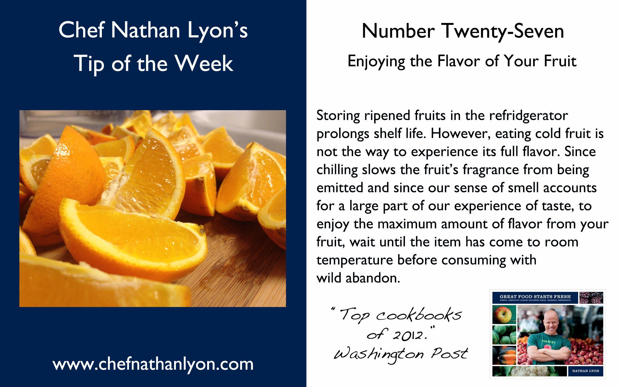 Weekly Tip Number Twenty-Seven