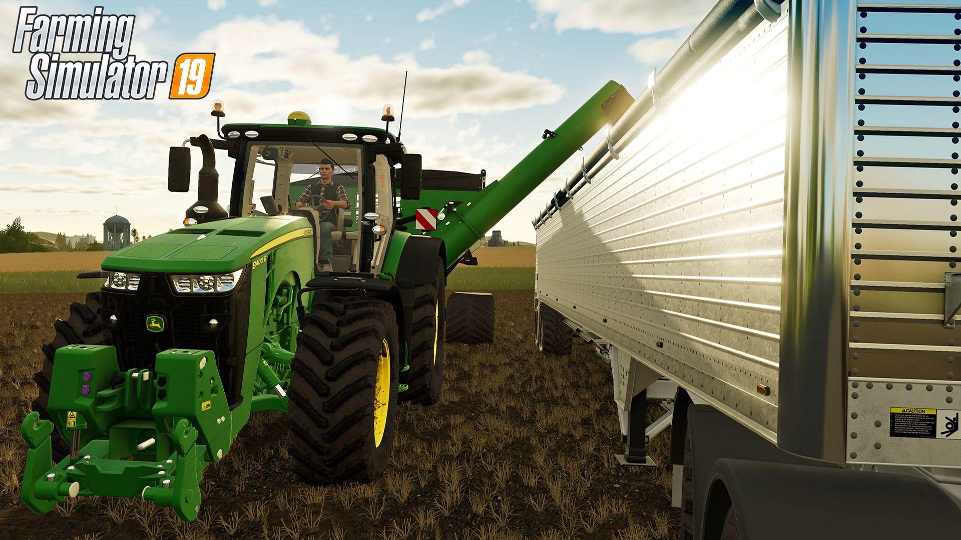 Farming Simulator 19 Trailer Teases Real-Time Crop