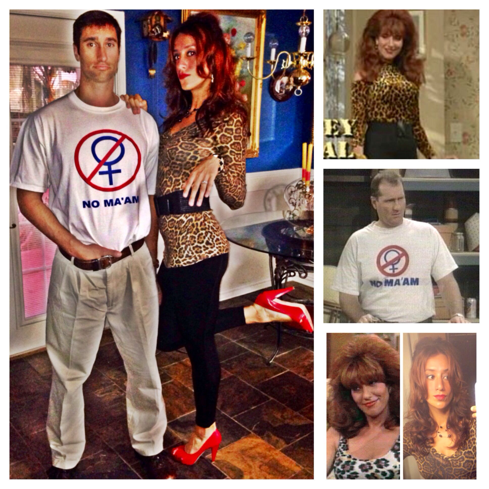 Married with Children Couple Halloween Costume | Couple halloween ...