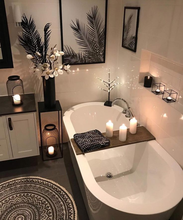 Home Decor Bathroom Inspo Hygge Remodelacion De Banos