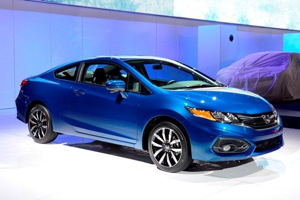 2014 Honda Civic Coupe EX, CVT, Dyno Blue Pearl With Gray Interior. Yummmy