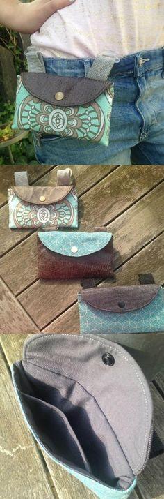 El bolsillo del teléfono móvil se puede transportar sin un cinturón – instrucciones de costura a través de Makeri …