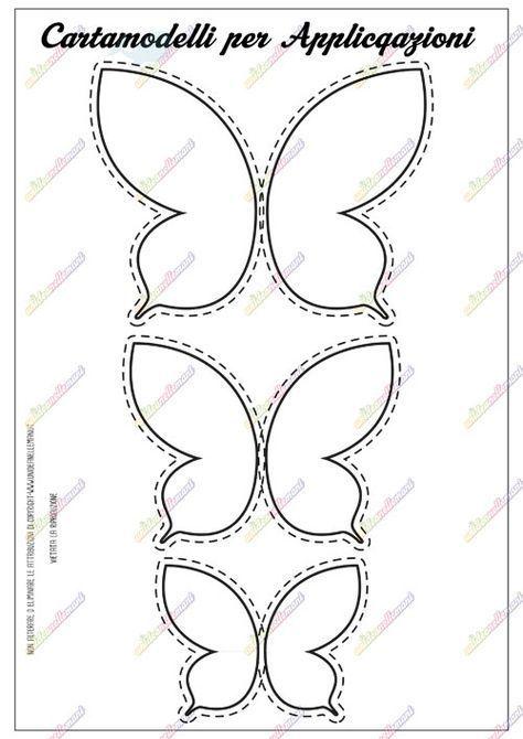 Cartamodello Farfalla Da Stampare Creazioni In Gomma Piuma
