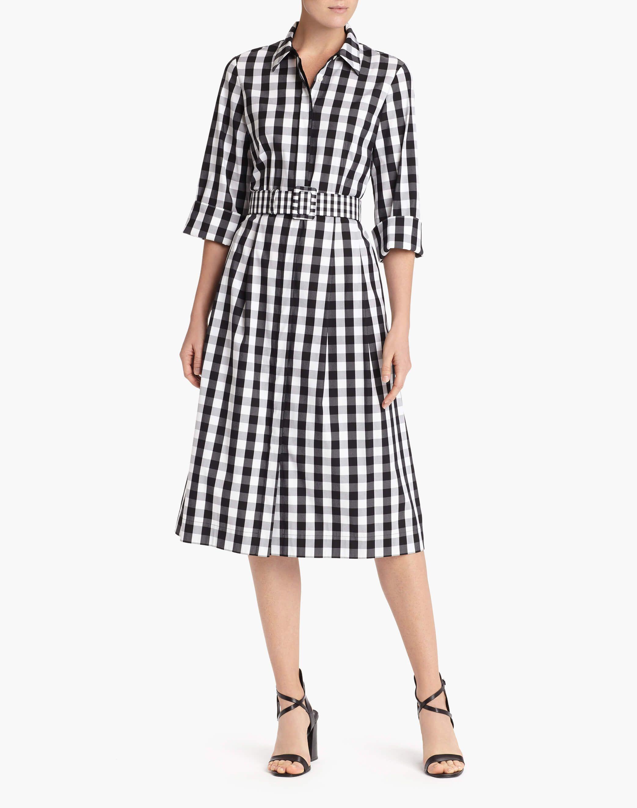 858991f5869c Belmont Check Shirting Eleni Dress - Dresses - Women - Clothing ...