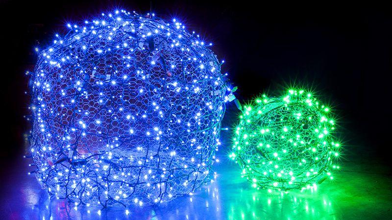 How to Make Christmas Light Balls Diy christmas lights, Chicken