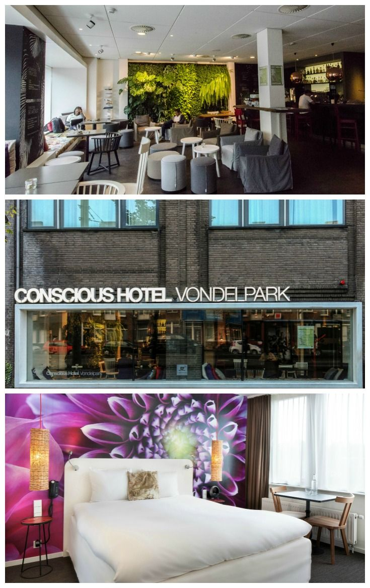 place to stay in Amsterdam Netherlands Conscious