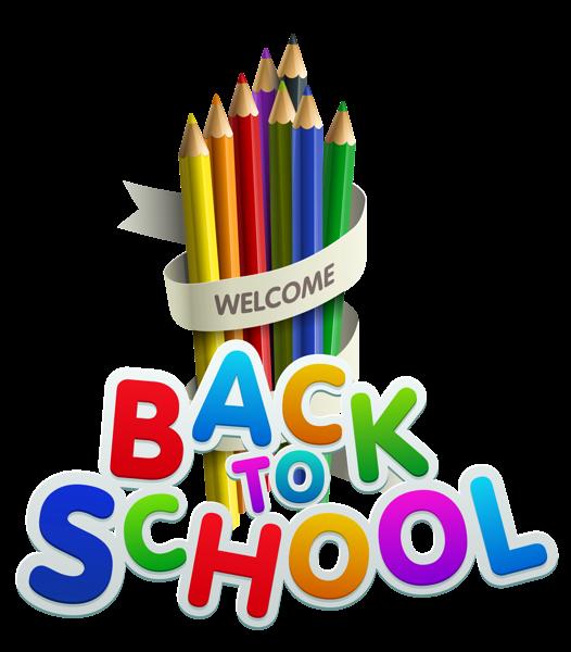 Back to School Transparent Decor | Clipart, Planners, Escuela